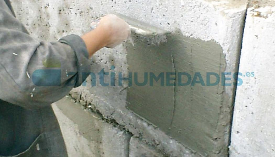 Mortero pantalla aditivo impermeabilizante para cementos y morteros