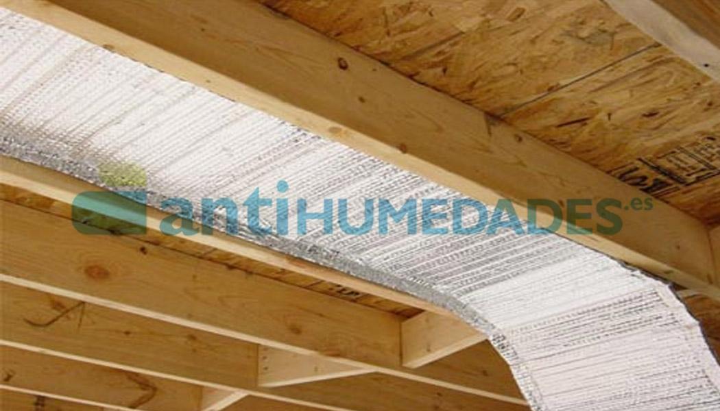 Aislante térmico reflexivo de Sopgal de 2 capas de aluminio para romper puentes térmicos