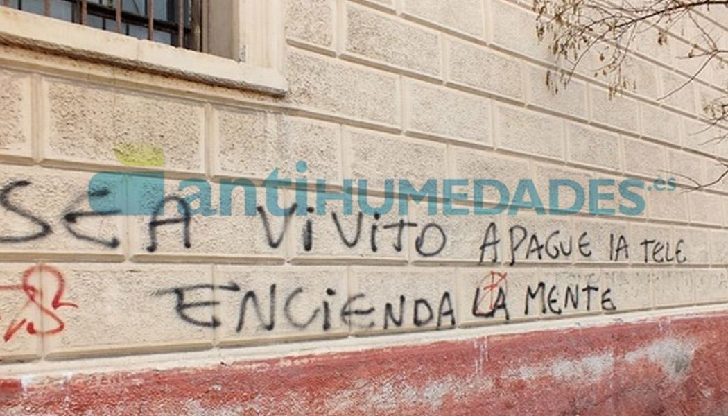 Antigrafiti de Sopgal es un tratamiento preventivo que para eliminar pintadas con spray en muros y fachadas