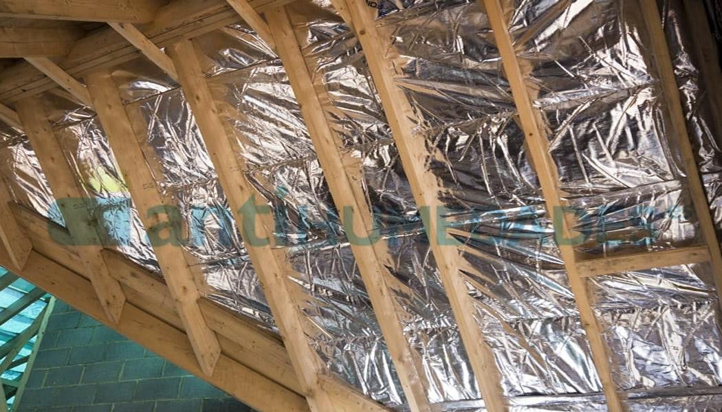 Aislante térmico reflexivo de 6 y 9 capas para tejados, cubiertas...