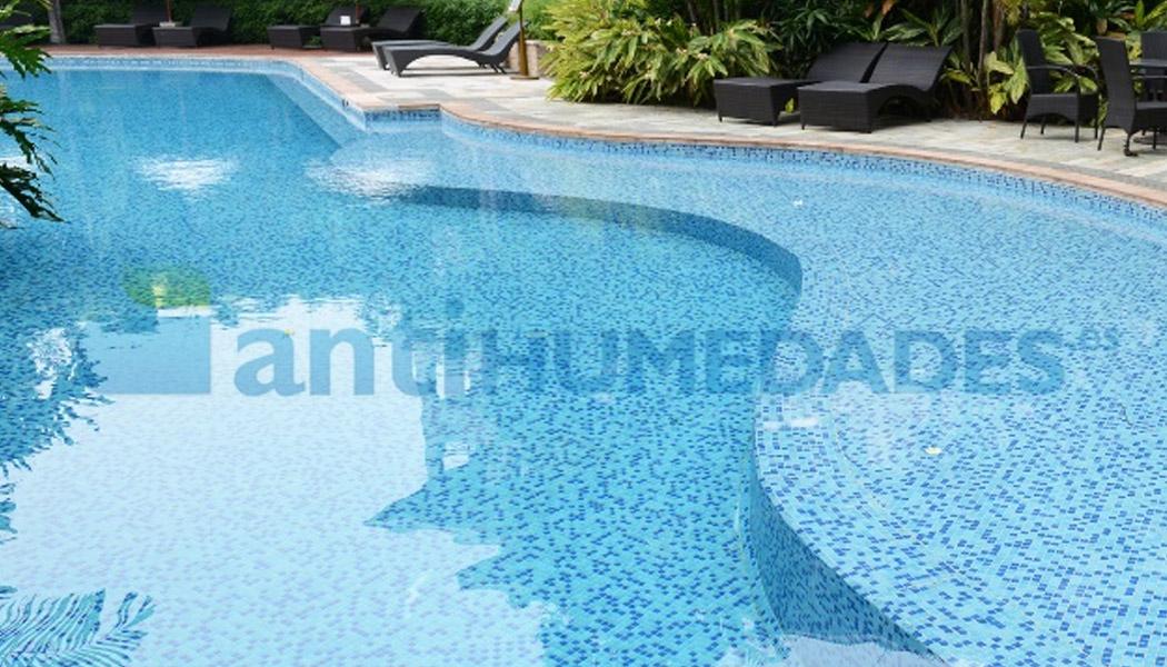 Poliuretano incoloro Idroless para piscinas