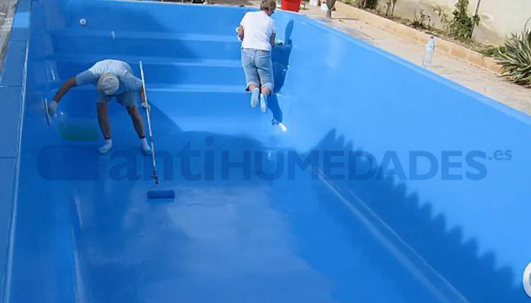 Pintura poliuretano Idroless para impermeabilizar piscinas y zonas con estancamiento de agua