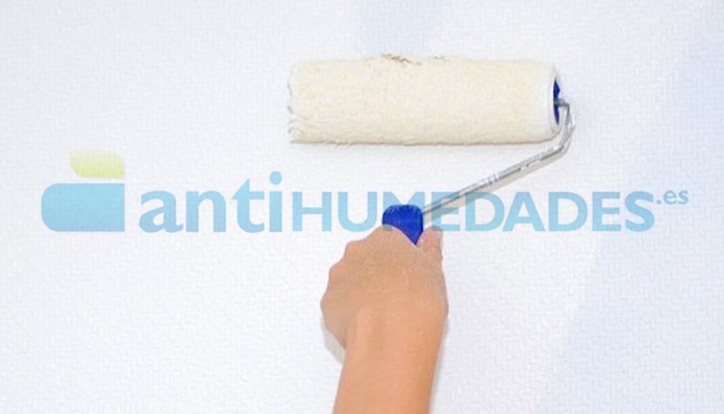 Aplicar pintura con mango para rodillo