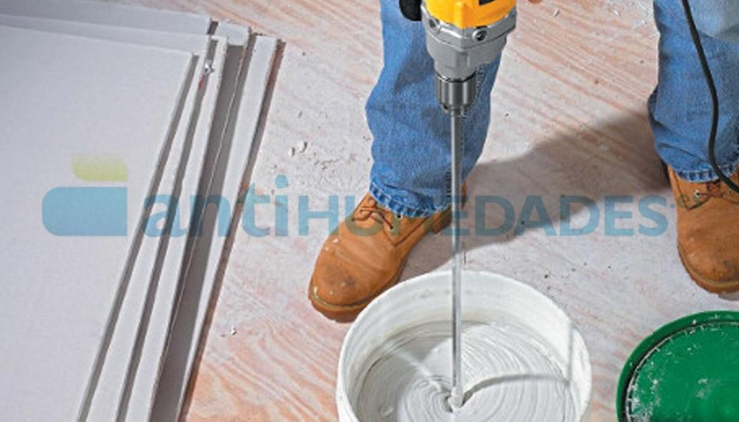 Agitador antiburbujas para acoplar en taladros y remover pinturas