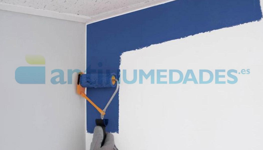 Pintar con rodillo recortador para pintura