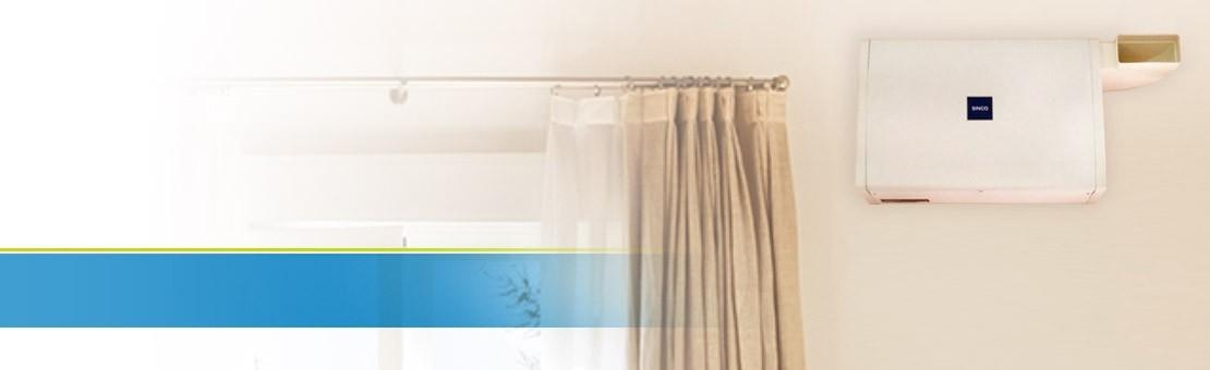 SINCO Sistema de Ventilación Forzada positiva para viviendas